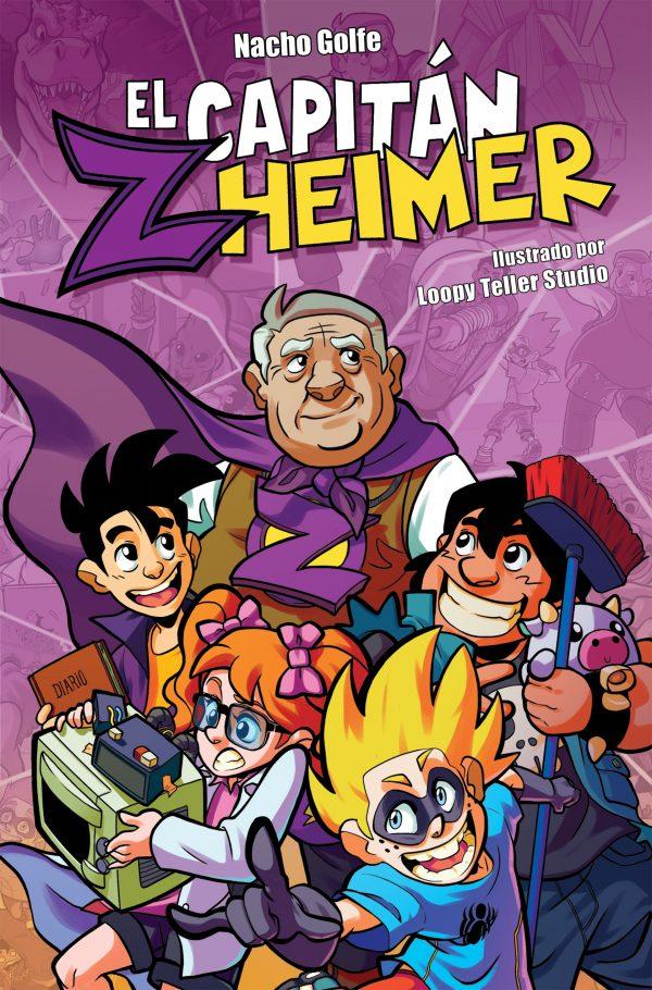 El Capitán Zheimer, libro que acerca el alzhéimer a los niños y jóvenes