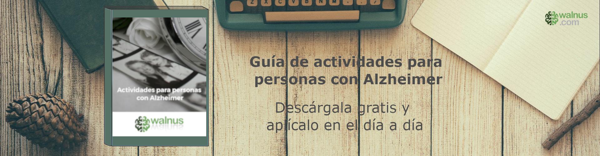 Guía de actividades para personas con Alzheimer
