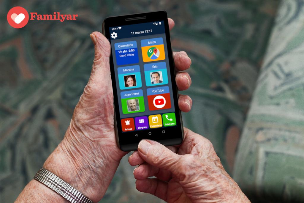 teléfono móvil para persona mayores