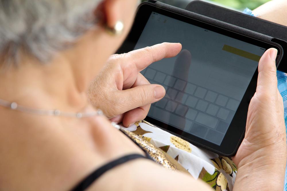 tecnología para persona mayores