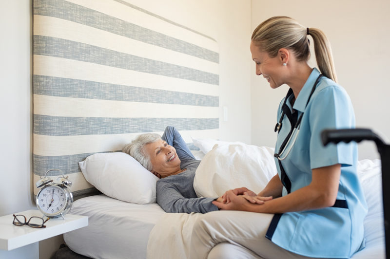 enfermera en el hogar