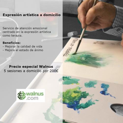 Expresión artística a domicilio
